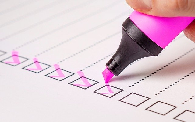 Conveyancing checklist for buyers
