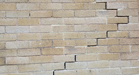 Subsidence Cracks – what to do if you think you have subsidence